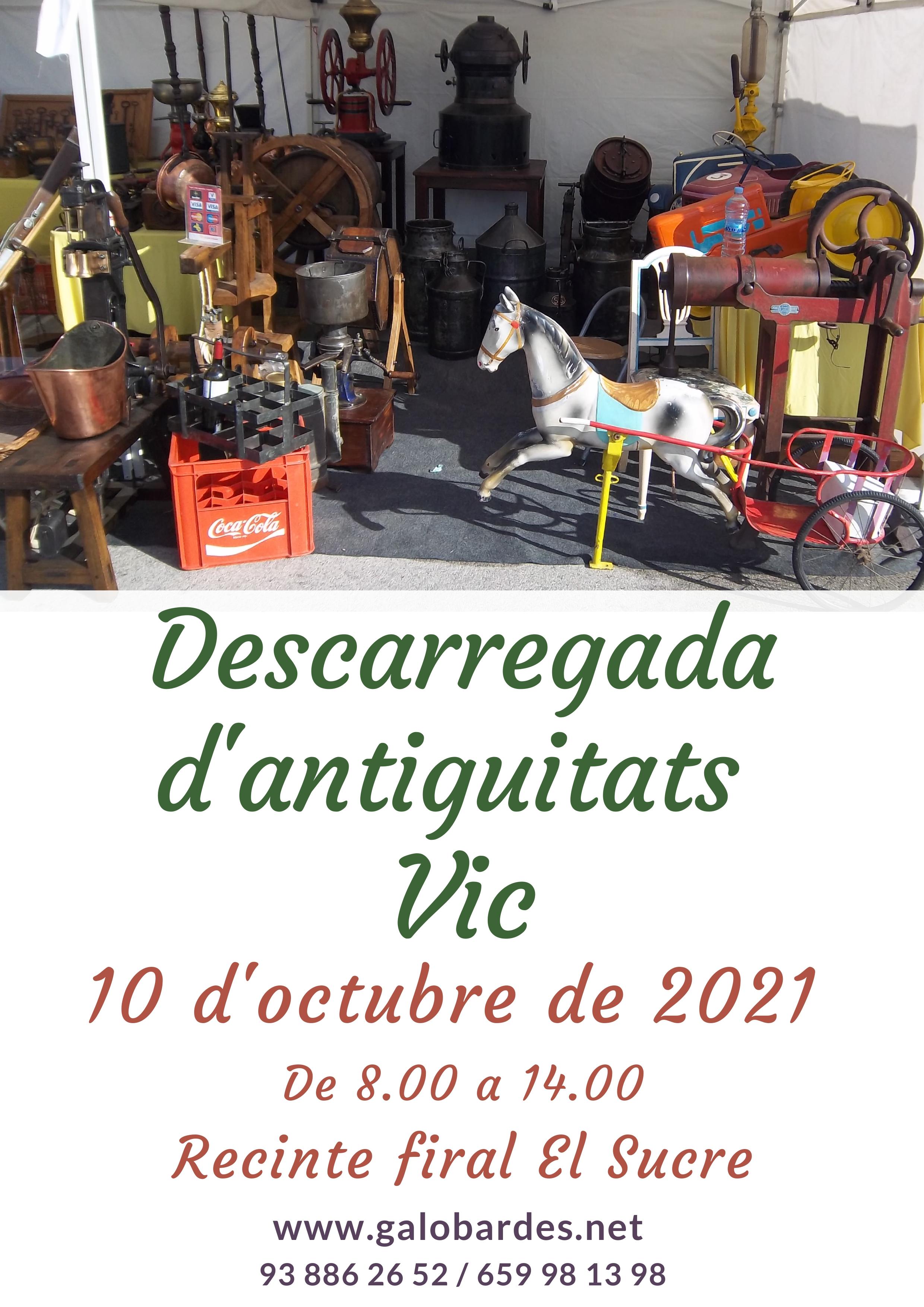 DESCARREGADA D'ANTIGUITATS VIC