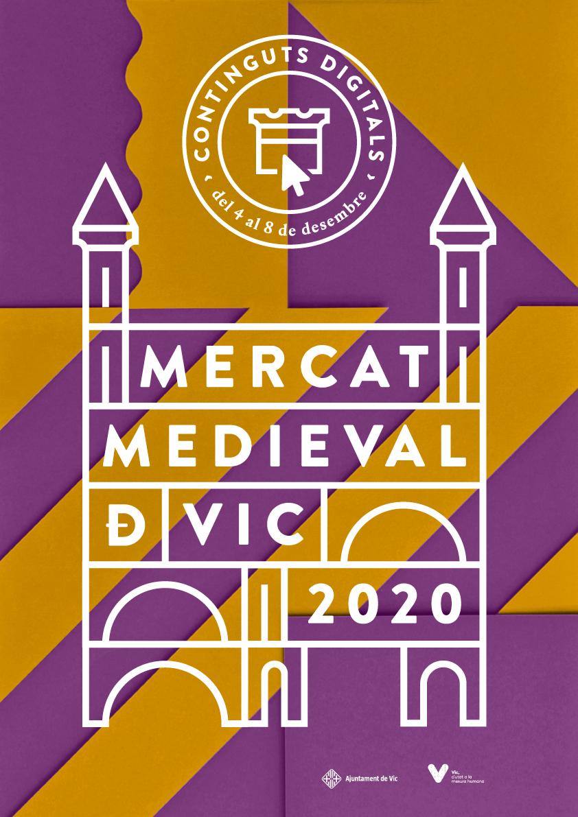 Mercat Medieval Vic 2020 | Continguts Digitals