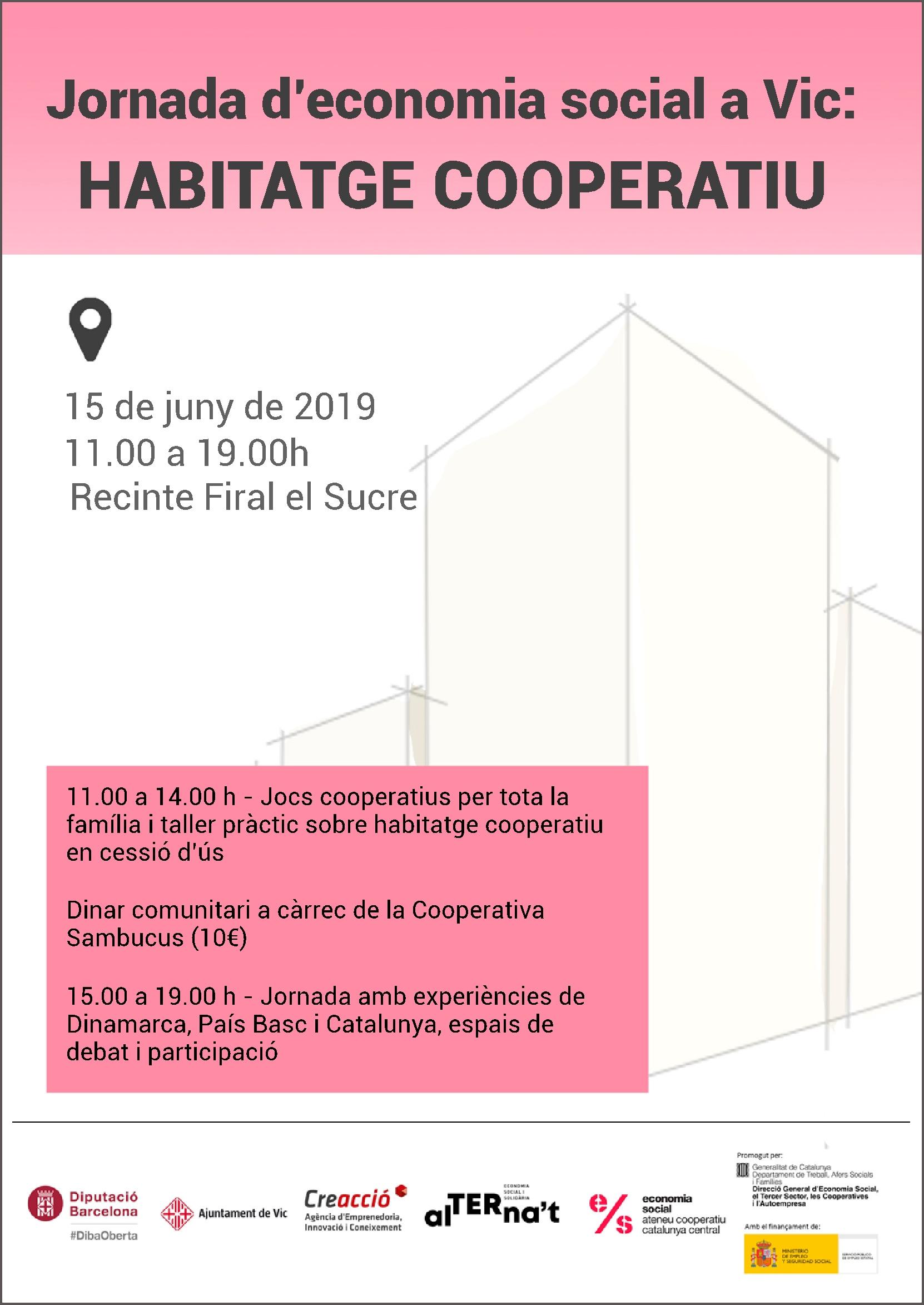 Jornada Habitatge Cooperatiu 2019