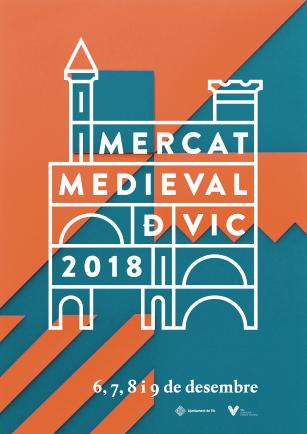 Mercat Medieval Vic 2018