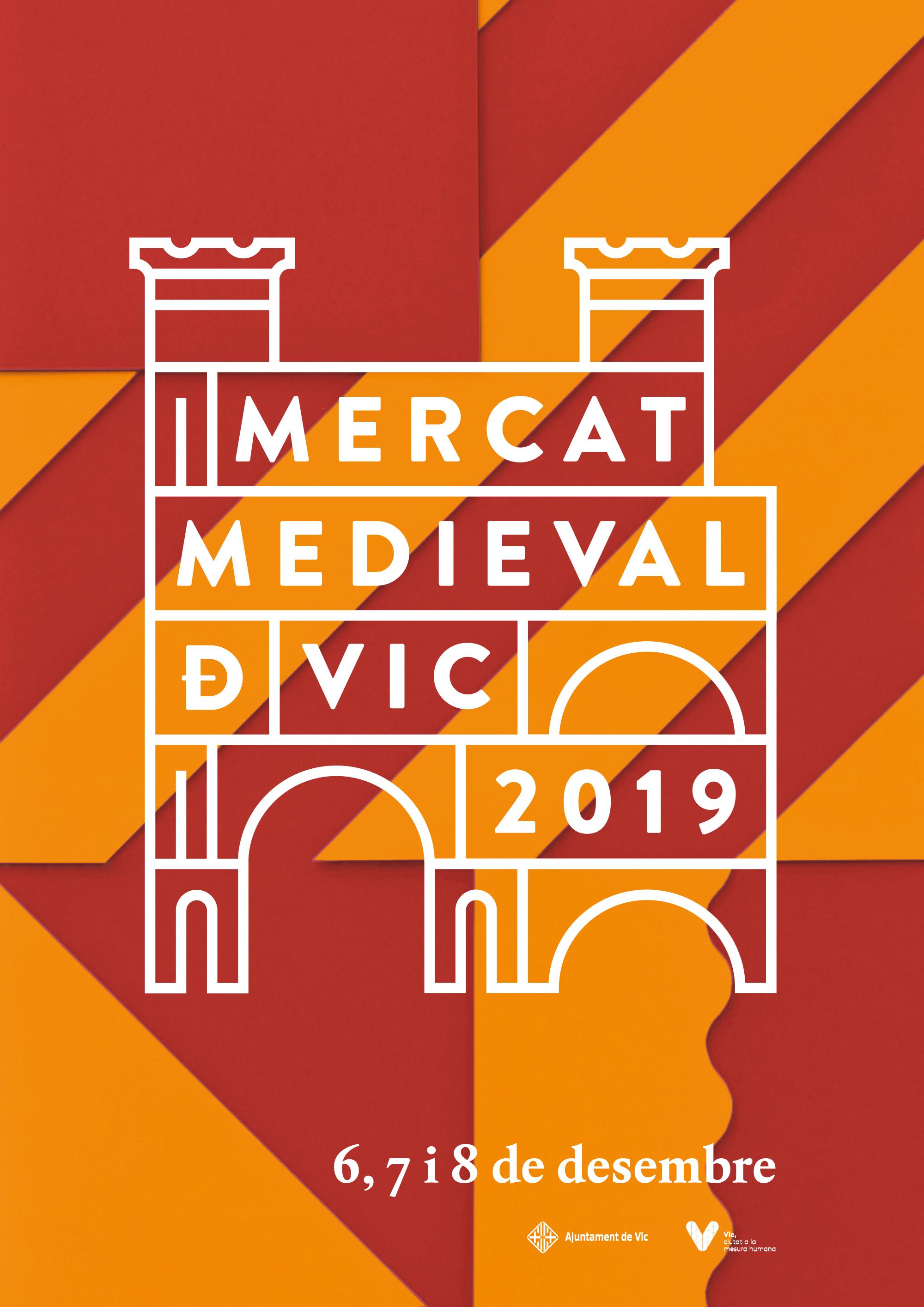 Mercat Medieval Vic 2019